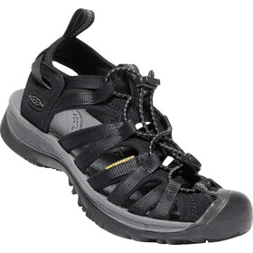 Keen Whisper Sandals Damen black/magnet